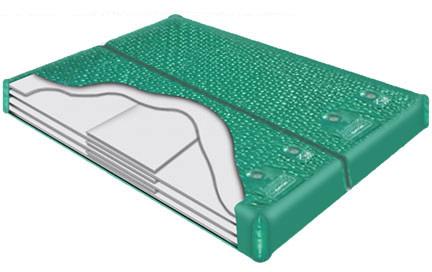 LS 1000 Dual Waterbed Softside water bladder