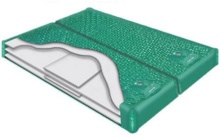 LS 900 Dual Waterbed Softside water bladder