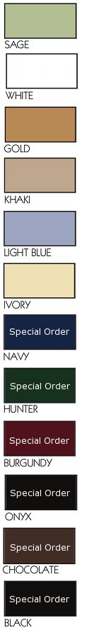 Available Sheet Set Colors