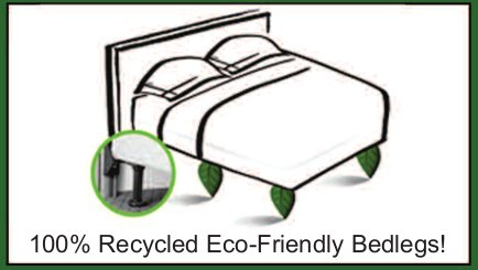 Environmentally Friendly Vergs Are An Innovative Less Expensive Modern Alternative To The Conventional Metal Bedframe And Now Fabricated From 100